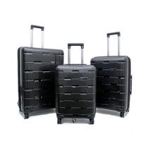 Set X3 Negro H2 Travel Luggage