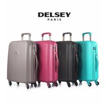 Delsey Flaneur Valija Mediana 4 Colores Con Zip Securi Tech