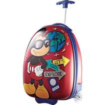 Valija Disney Minnie Y Mickey Mouse Importada Calidad Extrem