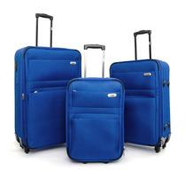Set X 3 Valijas Brandy Jachal Azul