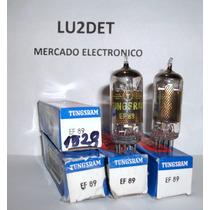 Valvulas Electronicas Ef89 6da6 Nos Nib Tungsram