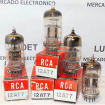 Valvulas Electronicas 12at7 / Ecc81 Nos Nib Rca Usa