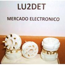 Zocalos Octales Kt88, Kt66, El34, 6l6 P / Pcb Pin Dorados