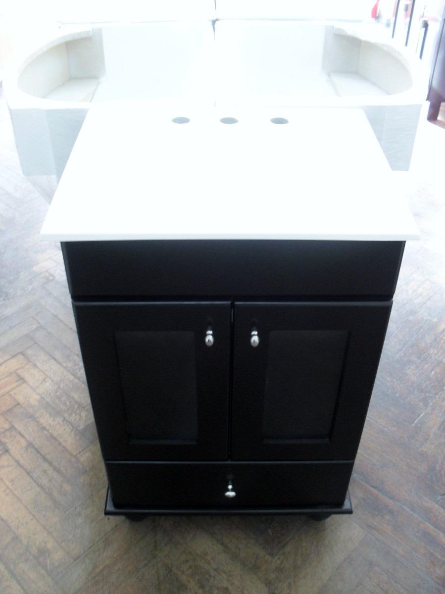 Muebles Para Baño Vanitory:Vanitory 50 Maral Wengue, Anaquel, Peinador, Mueble De Baño – $ 1210