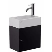 Vanitory Conjunto Ferrum Armónica Yl15a Toilette Negro Baño
