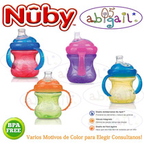 Vaso Antiderrame Super Boquilla Nuby +4m Factura Garantia