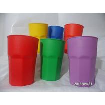 Vaso Plástico Apilables Excelente Calidad X 20 Unidades!!!