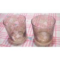 Par De Vasos De Whisky Vintage