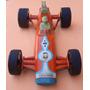 Antiguo Auto De Carrera F 1 Plástico Fricción Cocco