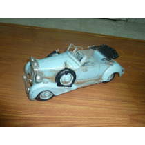 Auto Antiguo De Chapa Artesanal Ford Chevrolet M Benz