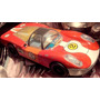 Auto Carrera Porsche Lata Litografiada Saxo Juguete Nacional