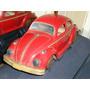 Antiguo Volkswagen Escarabajo Chapa Japon, Lata Litografiada