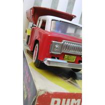 Antiguo Camión Volcador, Impecable En Caja.