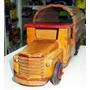 Juguete Antiguo Camion De Madera - Liliput (ind Arg)