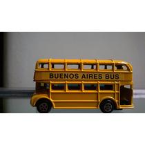 Omnibus Doble Piso Buenos Aires Juguetes Devoto