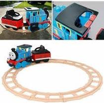 Tren Gigante A Bateria Thomas & Friends Con Luz Y Sonido!!