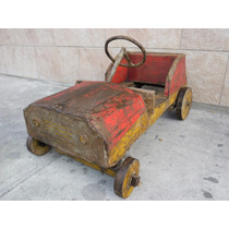 Antiguo Pedal Car Decoracion Karting