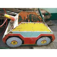 Calesita Antigua Tanque -juguete Época Italpark No Caballito
