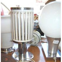 Lampara De Mesa Velador Tuvitos Diseño Retro Vintage 60 Y++