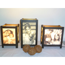 Lámpara Personalizada C/foto-regalo Boda/15 Años/aniversario