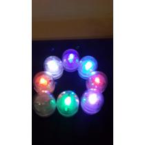 Oferta Velas Led Multicolor Itermitente +pilas X25 Unidad