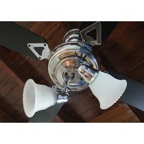Ventilador De Techo De 4 Aspas Premium. Garantía De 5 Años