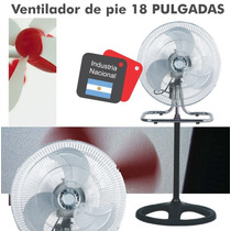Ventilador Winco 18 3 En 1. Pie, Pared, Turbo. Caballito.