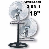 Ventilador 3 En 1 Palas Metal 18 Tambien Al Gremio,garantia