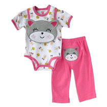 Carters Set 3 Pc- Con Bordados Temporada Verano 2014 !!