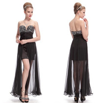 Vestido Corto Strapless 3xl Importado