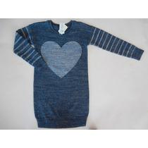 Vestido Sweater Gap Nena-talle 5 Anos
