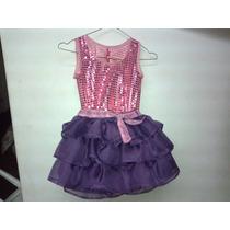 Vestido Dizfraz Violetta
