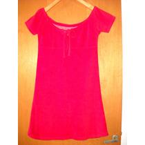 Vestido De Toalla Playa Color Rojo