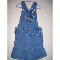 Vestidos Jeans Niña Talle 4 A 6 Años