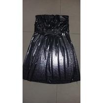 Vestido Corto Plateado Para Fiesta De Noche Excelente Caida