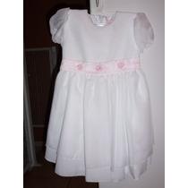 Vestido De Nena Talle 4 Para Bautismo