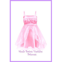 Divinos Vestidos Fiesta Nena Organza Cortejo Ect Moda Pasion
