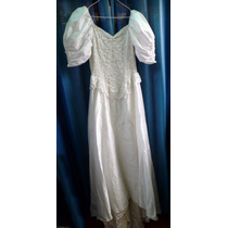 Vestido De Novia Talle 40 [s] Sin Detalles