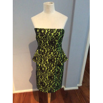 Vestido Strapless Zara / Oreiro
