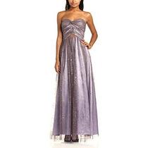 Vestido Importado Strapless Hailey By Adrianna Papell
