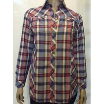 Camisa Escocesa Talles 48 Al 60