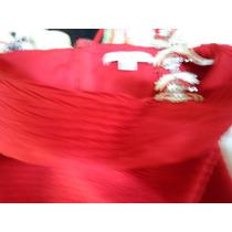 Hermoso Vestido Rojo De Noche Forever 21
