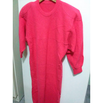 Vestido Tejido Bremer Color Coral Perfecto