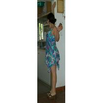 Hermoso Vestido Hindu * Om Ibiza * Envio Gratis A Todo Pais