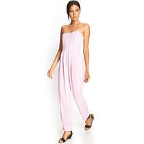 Forever 21 Strapless Wide-leg Jumpsuit [ootd] H&m Zara