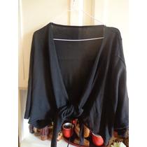 Hermoso Sweater-bolero En Tejido Lanilla Imp.u.s.a