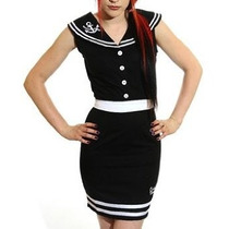 Vestido Pin Up Rockabilly Importado