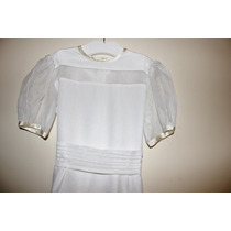 Vestido De Comunión Casamiento Fiesta Nena - Impecable!