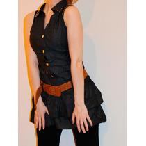 Vestido Importado Corto Yd Collection, Con Cinturón! Envíos