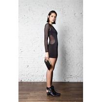 Maria Cher Vestido Pastafrola Negro Promo